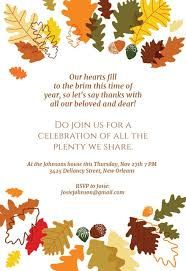 Thanksgiving Invites Thanksgiving Invitation Templates Free Greetings Island