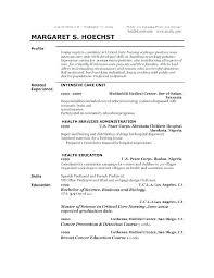 Resume Profile For College Student Resume Profile Sample Joefitnessstore Com