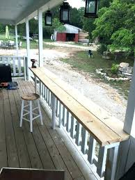 balcony railing table australia