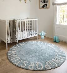 lorena cs kids room vintage style rug abc blue