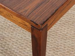 modern square coffee table. Danish Modern Square Coffee Table In Rio Rosewood