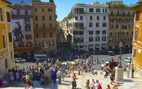 Falls sie sich für aktivitäten und sehenswürdigkeiten in der umgebung interessieren, dann sollten sie sich diese. Rom Spanische Treppe Trinita Dei Monti Kirche Villa Borghese Passenger On Earth