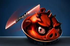 angry birds star wars darth maul wallpapers set for mobile tablet
