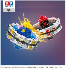 Đồ chơi con quay Đại Chiến Vô Cực Infinity Nado 5 mô hình Thần Phong Giáp  Chiến (dòng hợp thể gia ) 634301H