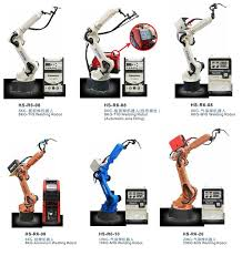 cnc industrial welding robot robotic arm 6 axis with servo motor