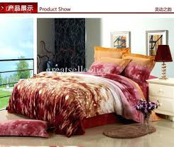 small size of king size modern bedding duvet cover set thicken sueded cotton reactive dyeing fabric