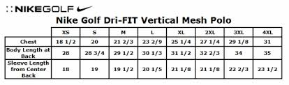 20 Efficient Nike Dri Fit Shirt Sizing Chart
