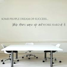 wall decal for office. Inspirational Wall Decals Quotes Wake Up Work Hard At Your Dreams  Motivational Sticker Decorative Decal For Office