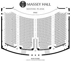 Massey Hall Concert Seating Chart Massey Hall Seating Crystal Clouds