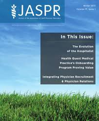 Journal Of Aspr Winter 2012 By Association For Advancing
