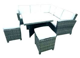 outdoor sofa dining set maze rattan cube corner sofa dining set rattan garden furniture