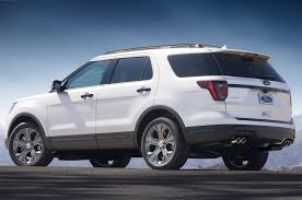 2018 ford interceptor. beautiful 2018 2018 ford explorer rear angle and ford interceptor