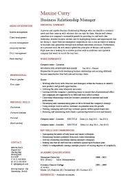 Client Relationship Management Resume Business Relationship Manager Resume Brm Jobs Courses Training