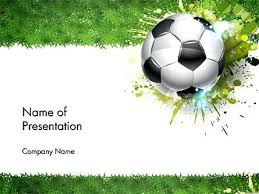 Football Powerpoint Template Microsoft Soccer Templates Free