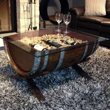 amazing find more custom made solid oak wine barrel coffee table in wooden idea 16