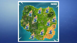 Fortnite Where To Find All 10 Battle Royale Birthday Challenge