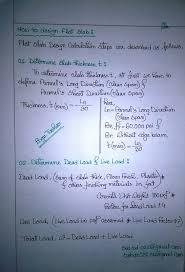 Link Slab Design Example Sea Soft And Design Consultants Design Calculation Steps