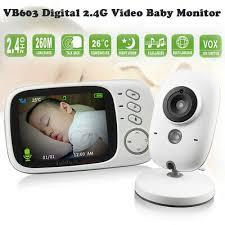<b>VB603 2.4G Wireless Video</b> Baby Monitor 3.2 inch LCD Two-way ...