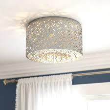 chandelier flush mount interiors 7 light reviews crystal semi