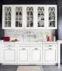 white kitchen cabinet glass doors