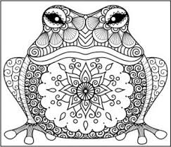 Small Picture Animal Zentangle Coloring Pages Little Pagan Acorns
