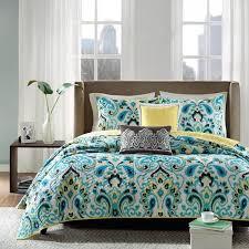 madison park ca blue ikat bedding by madison park bedding
