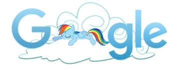 1368037 - artist:xxmaxterxx, cloud, google, google doodle, logo ...
