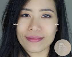 wearing smashbox pore minimizing photo finish foundation primer right