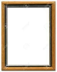 frame border design.  Frame Brown And Silver Empty Picture Frame Border Design Stock Photo  1951643 To Frame Border Design R