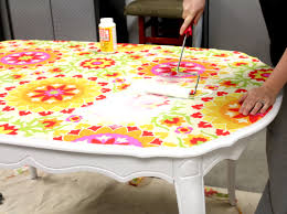 Mod Podge Kitchen Table Kitchen Tablenow Computer Desk