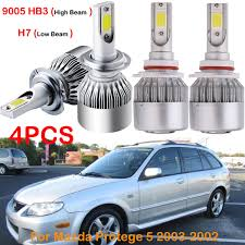 2003 Mazda Protege5 Check Engine Light Details About For Mazda Protege 5 2003 2002 Front H7 9005 Hb3 Led Headlight Bulbs Kits