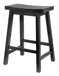 24 inch wooden bar stools. Wonderful Inch Winsome Wood 24Inch Saddle Seat Counter Stool Black With 24 Inch Wooden Bar Stools E