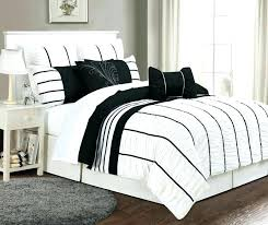 Black And White Comforter King Black Comforter King Bedroom Black ...
