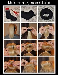 Different Bun Hairstyles Sock Bun Hairstylesimple Different Bun Hairstyle Ideas For Girls
