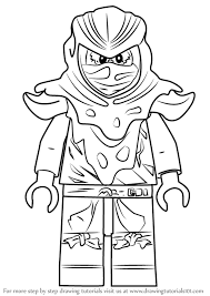 How To Draw Evil Green Ninja From Ninjago Drawingtutorials101com