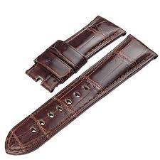 <b>ZLIMSN</b> Customized <b>Crocodile Leather Watch</b> Band Strap Belt for ...