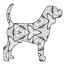 30 Free Printable Geometric Animal Coloring Pages The Cottage Market