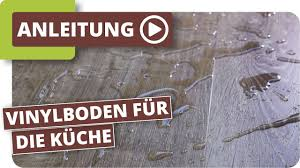 Mit einem fachmännischen küchenumbau kann sich das ergebnis am ende sehen lassen. Vinylboden Fur Die Kuche Youtube