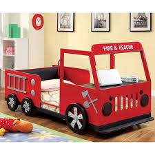 Furniture of America Rescue Team Fire Truck Metal Youth Bed - Free Shipping  Today - Overstock.com - 16356213