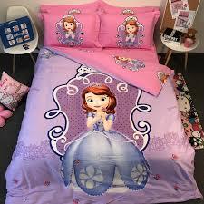 sofia princess full queen cotton duvet cover bedding sets