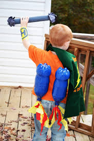 how to make your child a superhero costume