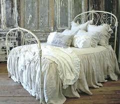 white wrought iron bed. Brilliant Wrought White Wrought Iron Bed Antique By On  For White Wrought Iron Bed W