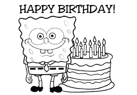 Happy Birthday Coloring Sheets Mickey Mouse Birthday Coloring Page