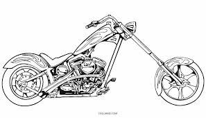 Small Picture Free Printable Motorcycle Coloring Pages For Kids Cool2bKids