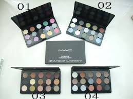 collections makeup mac eye shadow 15 colors