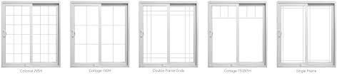 customize patio doors with 3 and 4