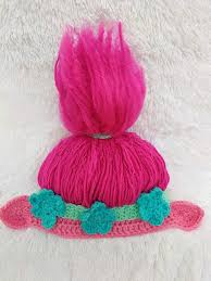 Trolls Crochet Hat Pattern
