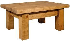 rustic pine coffee table