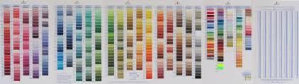 Dmc Color Chart 2017 Cross Stitch Corner Dmc Floss Color Card Incl New Colors