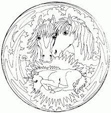 Kleurplaat Van Paard Met Veulen Archidev Kleurplaat Paard Rond